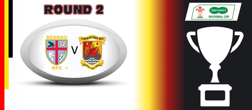 Round 2: Beddau RFC v Quins