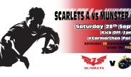 Scarlets A V Munster A