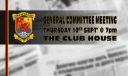 2020 GENERAL COMMITTEE MEETING